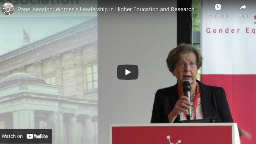 Panel session: Women's Leadership in Higher and Research, STEM Gender Equality Congress 2017